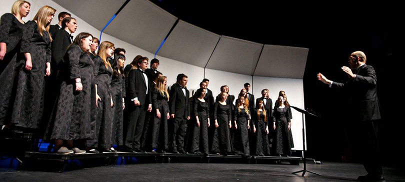 Powell River's Academy Youth Choir