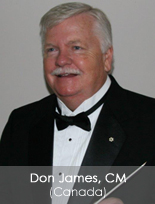 Don James, CM